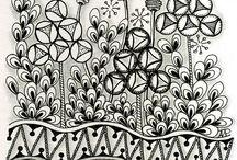Zentangle - Papiers