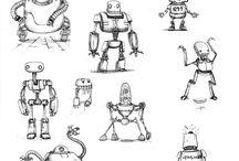 Robot scetchboock