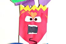 """Inside Out Theme / Craft, printables and ideas based around the move, """"Inside Out."""""""