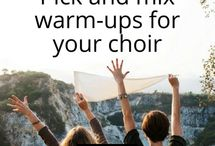 Warm-ups for choirs - our tried and tested ideas from Total Choir Resources / Fun, easy and inspiring warm-ups for your choir by Total Choir Resources helping you to work on a range of techniques including breathing, posture, pitch, diction, harmony and teambuilding with your singers.