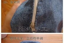 panta jeans zaino