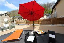 Pour les beaux jours du Printemps / Chambre d'hôtel*** avec Terrasse privative Repos, calme et sérénité en bordure de Lot