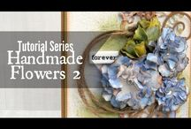 Flowers: how to make + use.