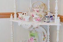Shabby tea cabinet