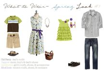 What To Wear / Inspiration for what to wear at your family photo shoot / by Vicki Knights