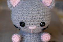Chats en crochet