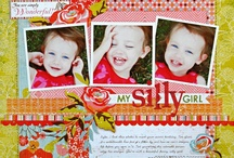 Page of the Month / ideas and samples featuring Basic Grey collections & POTM kits
