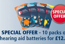 Hearing Aid Batteries / Information on our hearing aid batteries and any offers available