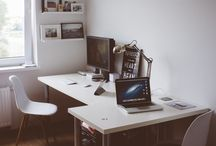 Työhuone / Uuteen kämppään ideoita työhuoneeseen
