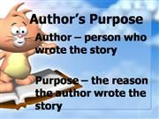 Teaching - ELA: Author's Purpose / by Shelee Brim