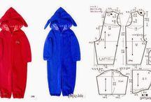 szycie - wykroje - children clothes