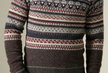 Men's Sweaters / Cardigans / Knitwear / by sock pupppet