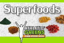 Superfoods / Healthy and yummy recipes featuring nutritionally dense ingredients and superfoods. Stay healthy and heal your body with these balanced nutritious superfoods. What are your favorite superfood recipes?  / by Athletic Greens