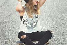 SKATE / mens + womens skate fashion inspo