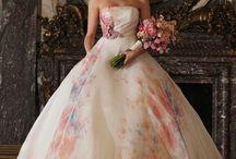 Robes de mariée / Courtes ou longues vous serez belle dans votre jolie robe!