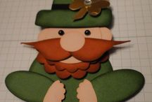 St. Patrick's Day / handmade cards, decor items and 3D projects made specifically for St. Patrick's Day
