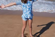 Sun Protection for Girls / Sun protection swimwear for girls ages 2 to 14.