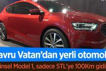 YAVRU VATANDAN  KUZEY KIBRIS TURK CUMHURIYETI YENI NESIL ELEKTIRIKLI OTOMOBIL 5 LIRAYA 100 KILOMETRE