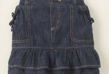 Skirts for the Girls / Much easier to make than a dress when something new is required.