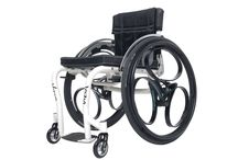"""Loopwheels for wheelchairs, now available! / Ever since we launched our loopwheel for bicycles last year people have asked us if we can make it easier to go over rough ground and bumps with a loopwheel for a wheelchair. We launched our new 24"""" and 25"""" loopwheels for wheelchairs in April 2015. Yey!"""