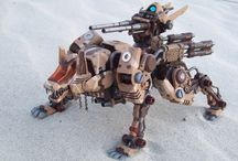 Zoid Custom Ideas / Collection of Custom Zoids for Inspirations. Custom Paint. Custom Detailing. Part Modification.