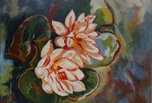 Schilderijen bloemen / Dit kunstwerk is te koop op www.mijnkunstwerk... Wil jij jouw kunstwerken verkopen ? Bezoek dan even onze website !