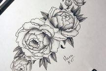 Цветы рисунок