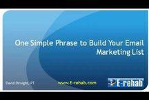 Helpful Social Media Marketing Videos / by E-rehab.com