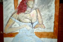 Works - Brazilian artist / My works of art. Études, Paintings, Drawings