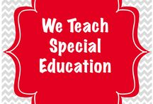 We Teach Special Education / This is a collaborative board for a group of special education bloggers to share ideas and posts with the greater community.