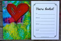 My Art on Invitations