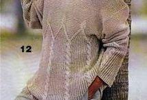 вязание спицами мужчинам