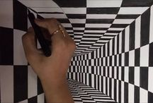 how to draw a tunnel