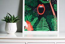 My posters - wall art / Wall art
