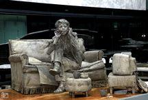 canlı heykel