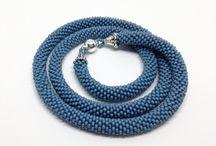 Collane / Necklaces / Colliers / Beadcrochet