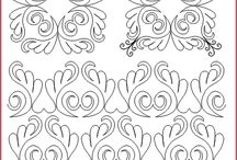 Quilting designs and Stencils