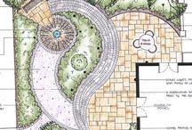 Дача-планировка садового участка