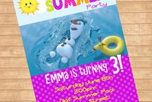 Olaf in Summer Party