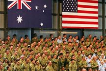 AMERICA / AUSTRALIAS ALLIES GODS GRACE BE UPON THEM / by Rhonda n Chloe Listing Mother n Daughter