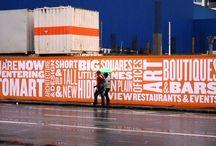 street hoarding