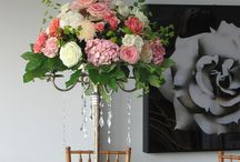 Centerpieces / A board featuring various styles of floral centerpieces