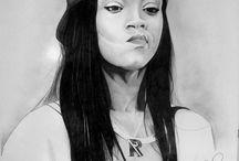 Portraits / Ritratti a grafite