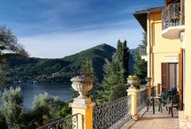 Villa La Collina / Villa Collina is situated on the top of a middle Lake hill with a wonderful view of Bellagio. Villa Collina è situata sulla cima di una collina del centro Lago con una splendida vista su Bellagio. @GRIANTE