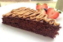 Sunne kaker og snacks