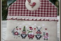 Embroidery, applique 1