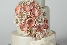 Pretty wedding cakes / Welcome!!!! Every pinner has their own rules. It takes us months to create these boards. No more than 10 pins a day, so please respect or you will be blocked.  / by Gayatri Jhaveri