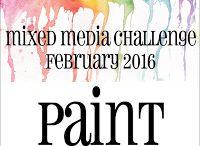 HLS February 2016 Mixed Media Challenge