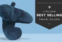 Travel Pillow / Traveling long hours cooped up in an airplane, long distance coach or even a car could be a very uncomfortable proposition if you have no way of avoiding it, it's time to take your travel pillow with you on the trip.