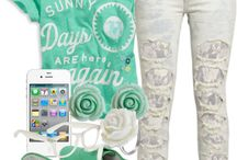 Cute clothes / Sing and the bling bling